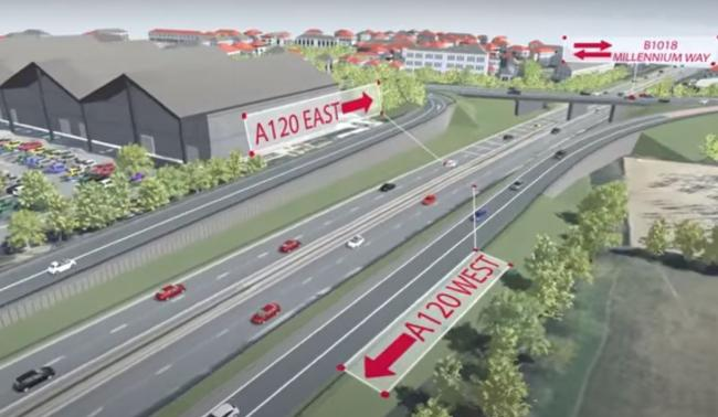 A120 slip roads at Galleys Corner in Braintree given the green light