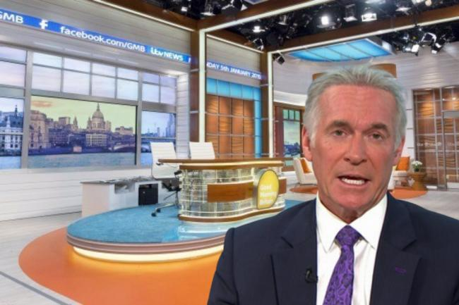 Good Morning Britain's Dr Hilary Jones has explained the common Covid-19 symptoms. Picture: composite