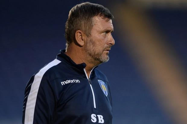 Disappointed - Colchester United head coach Steve Ball Picture: PA
