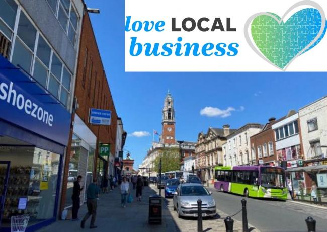 Love Local campaign is launched by the Gazette