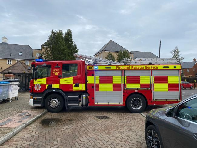 Gas leak in Grosvenor Place, Colchester
