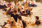 Raft race 1982 Picture: Michael Emerson