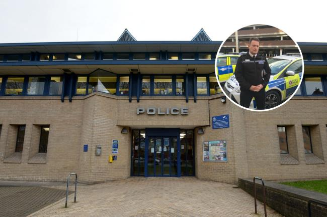 Award - Colchester Police Station and inset: Ben-Julian Harrington