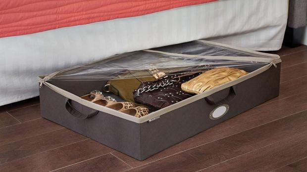 Gazette: Under-bed storage is ideal for homes with limited space. Credit: ClosetMaid