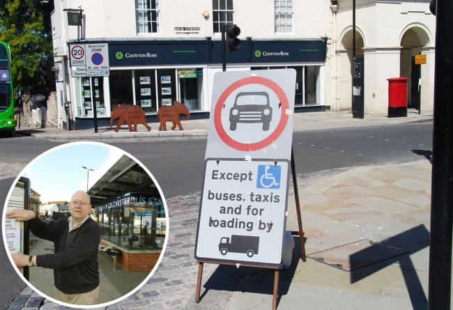 Campaigner reports hundreds of drivers flout High Street car ban every day