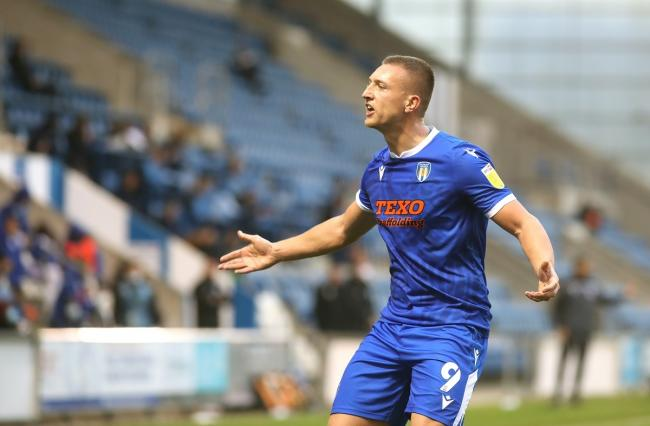 Moving on - Luke Norris has left Colchester United to join their League Two rivals Stevenage Picture: STEVE BRADING