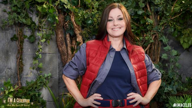 Former camp mate: West End star Ruthie Henshall. Picture: I'm A Celebrity Twitter
