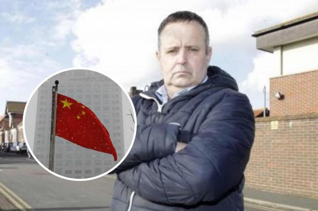 Campaigning councillor calls for ties with China to be cut
