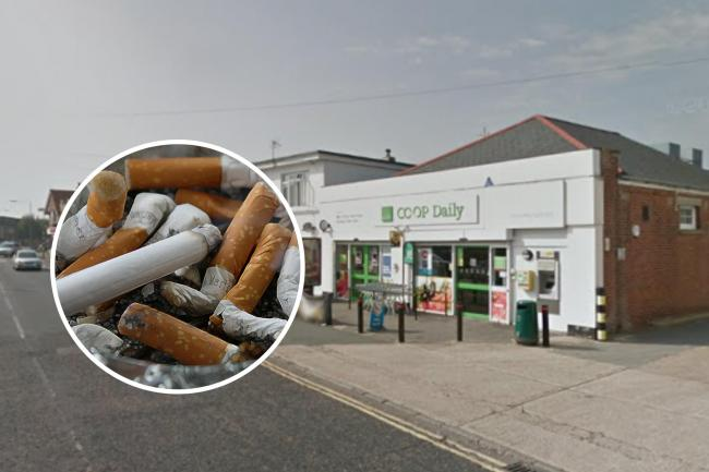 Cigarette thief targets supermarket before police make arrest minutes later