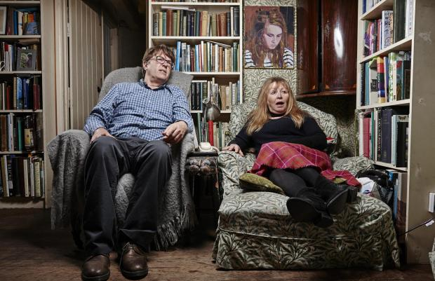 Gazette: Giles and Mary. Picture: Channel 4