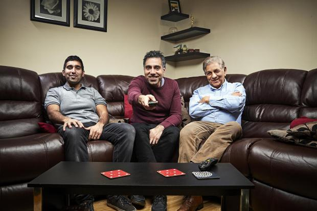 Gazette: The Siddiqui family. Picture: Channel 4