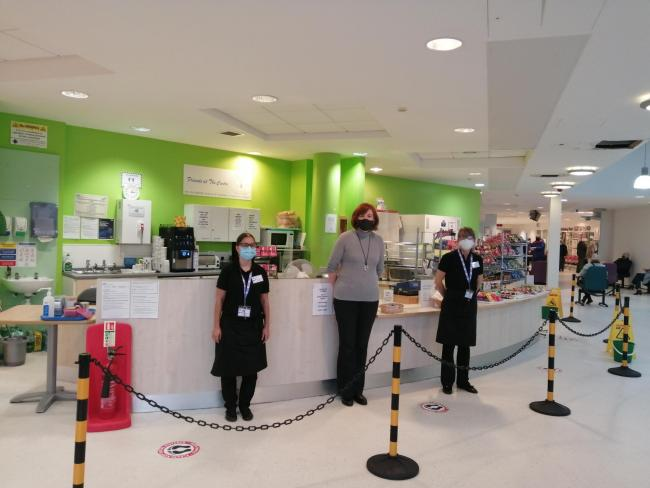 Reopening - Community360 has taken on the cafe at Colchester's Primary Care Centre