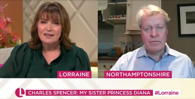 Princess Diana's brother on Meghan Markle's miscarriage. Picture: Lorraine