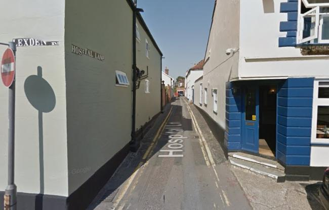 Hospital Lane in Colchester