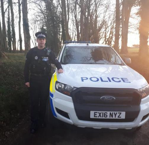 Special Constable Mikey Mihalyfi (Essex Police)
