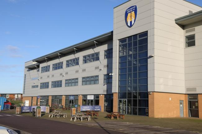 Rollout - Colchester United's stadium is set to be used as a Covid-19 vaccine hub