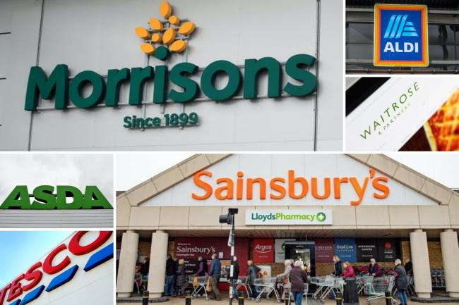 Aldi, Asda, Sainsbury's, Tesco, Lidl, Morrisons and Waitrose, urgently recall these items. (PA/Canva)