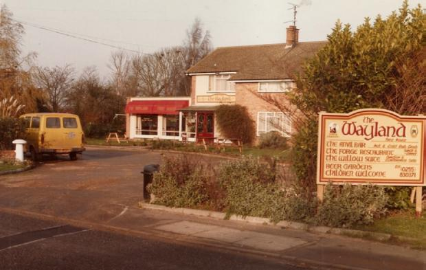 "Gazette: Fond memories - The Wayland, in Weeley, opened as a freehouse in 1985 and, after changing ownership, became The Birches in 2001. The venue closed sometime after and there is now a small housing development on the same site. ""This pub had a fantastic 20ft"