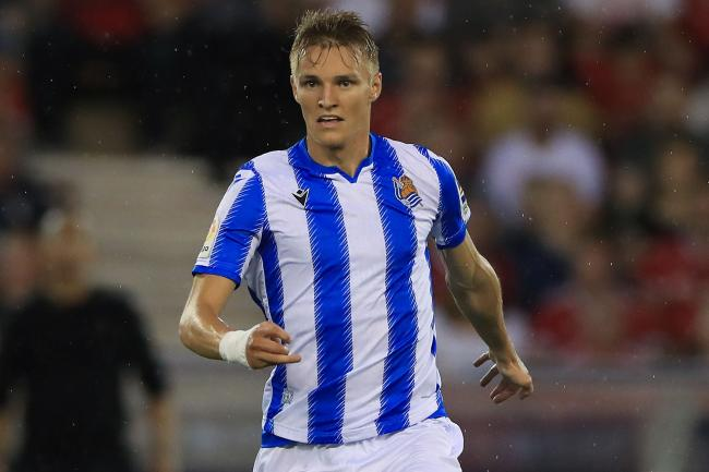 New Arsenal signing Martin Odegaard spent last season on loan at Real Sociedad.