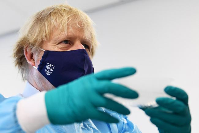 PM Boris Johnson is preparing for his announcement tomorrow