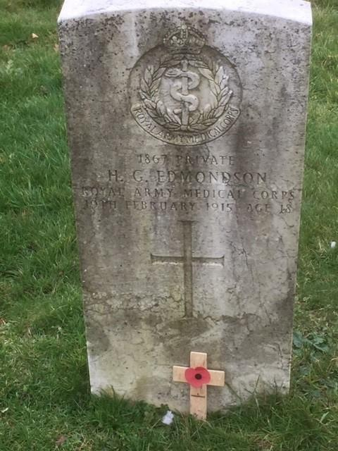 Gazette: Andrew says headstones of servicemen like this need the attention they deserve