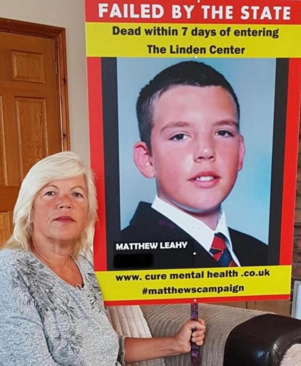 Gazette: Justice - Melanie Leahy and a picture of her son Matthew
