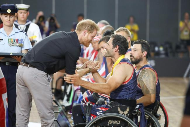 Duke of Sussex at the Invictus Games
