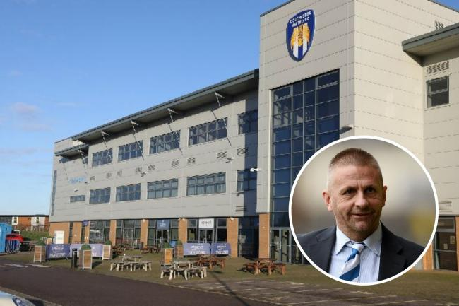 Colchester United chief Robbie Cowling has spoken out about an altercation with former Football in the Community charity worker Mark Harris