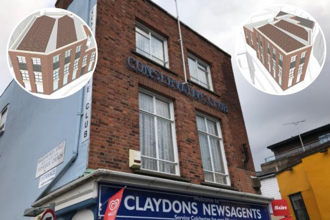 Saved - plans to demolish Colchester Conservative Club and replace it with flats have been withdrawn