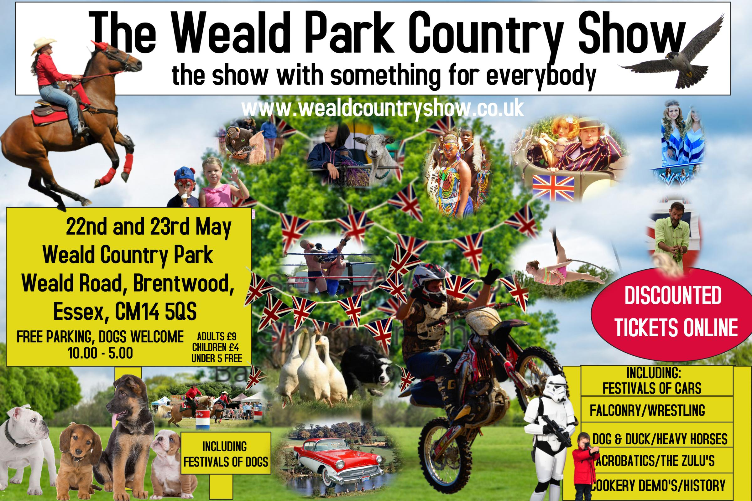 The Weald Park Country Show 2021.