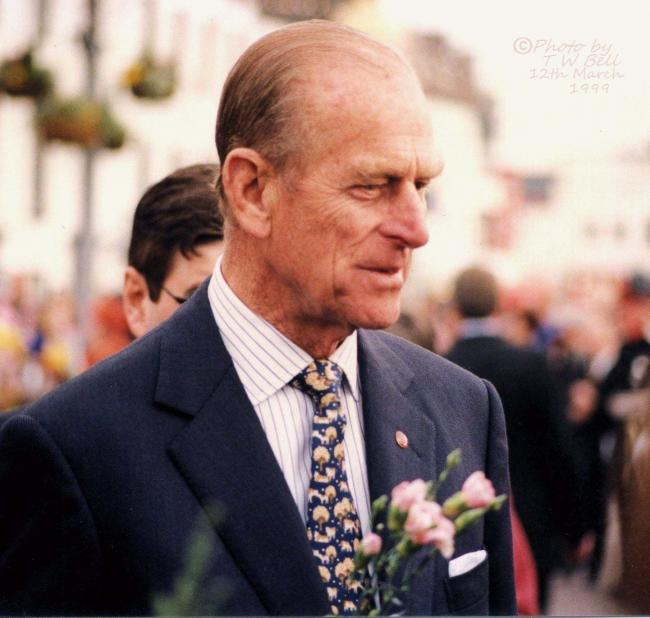 Royal visit - Prince Philip in Essex. Picture: Trevor W Bell