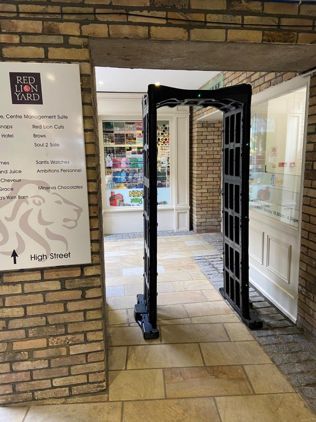 Gazette: The knife arch in Red Lion Yard