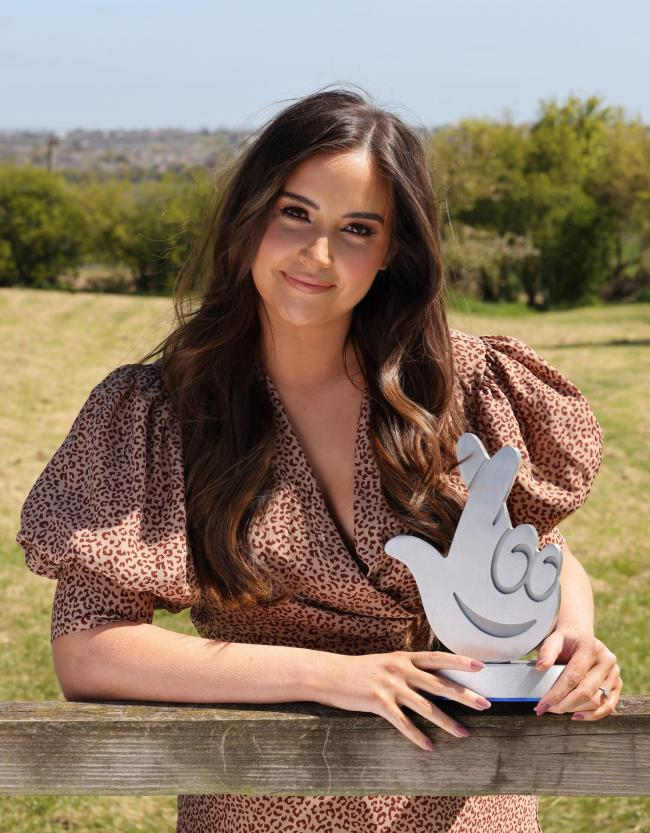 Jacqueline Jossa urges residents to nominate heroes for National Lottery Awards