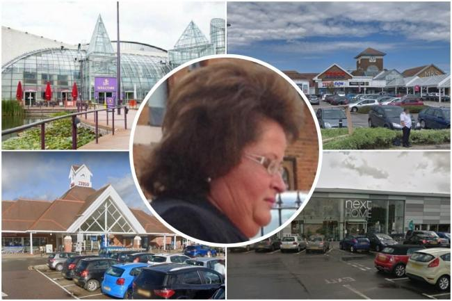 Refund fraudster Patricia Phillips was back in court for a spree of dodgy claims at Tesco stores in Sussex, at Bluewater, and at Next in Basildon