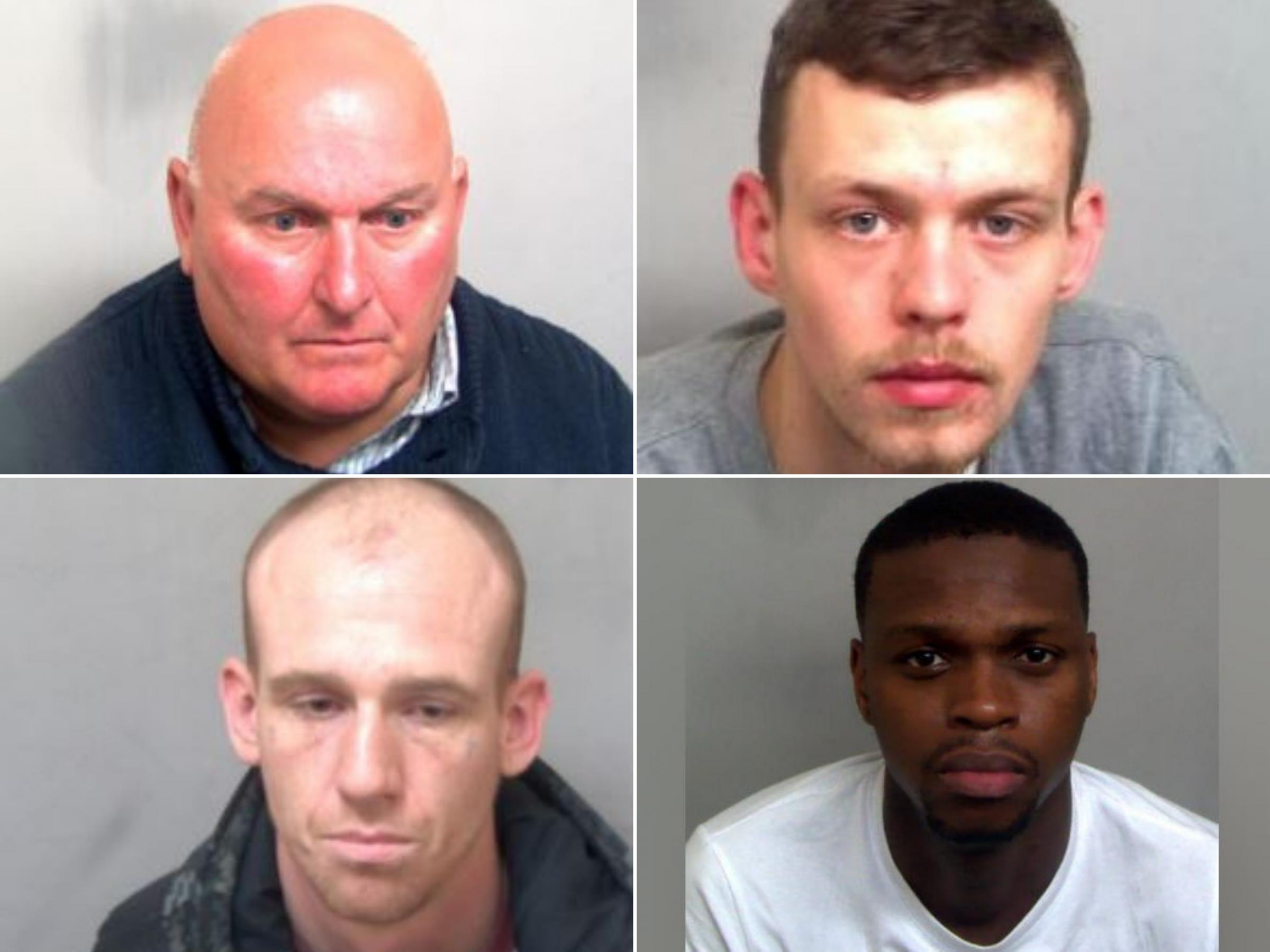 Jailed in July: The north Essex criminals locked up this month