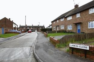Gazette: Larch Close - one of the streets singled out on the website