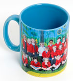 Gazette: Lt Blue Mug