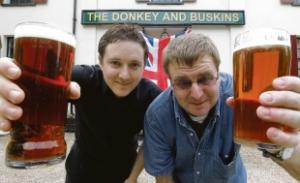 Donkey and Buskins Pub