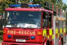 Witham: Woman trapped in car rescued by fire crews