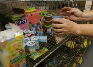 Food bank helps families in crisis