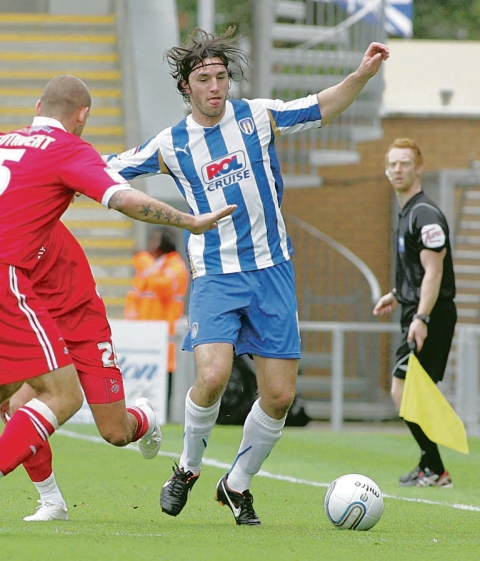 Loan move - John-Joe O'Toole has left Colchester United after joining Bristol Rovers on a month's loan.