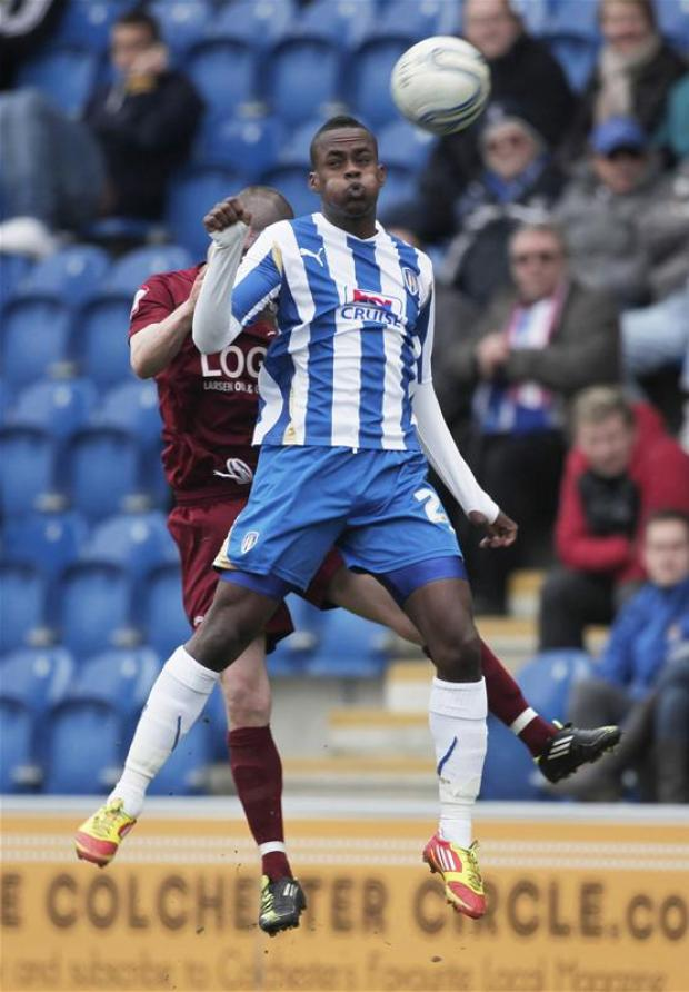 Gazette: Repeat showing? Gavin Massey was on target for the U's in their 3-1 win over Hartlepool United, in September.