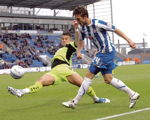 Gazette: Farewell - Ben Coker has had his contract cancelled by Colchester United.