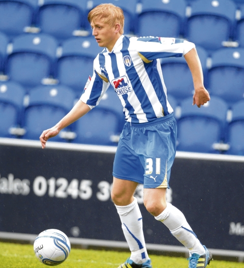 Staying - Bradley Hamilton has signed a new one-year deal with Colchester United.