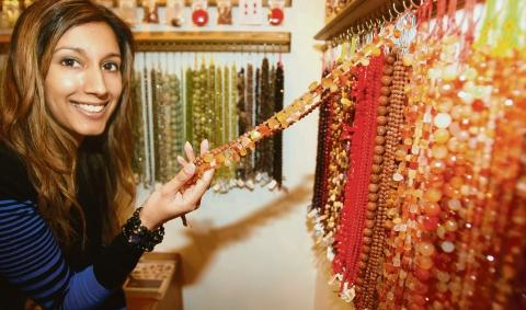A treasure trove – Soraya Williams looks at the range of beads and crystals at Monty's Beads