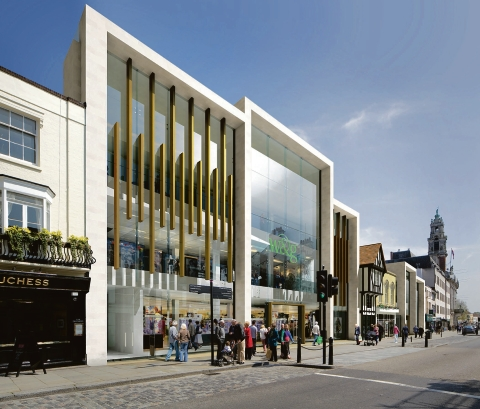 Proposals put forward by Williams & Griffin to overhaul its High Street store and remove the 1920s facade have been given the green light by planners.