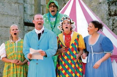 Tongue-in-cheek style – Illyria theatre company