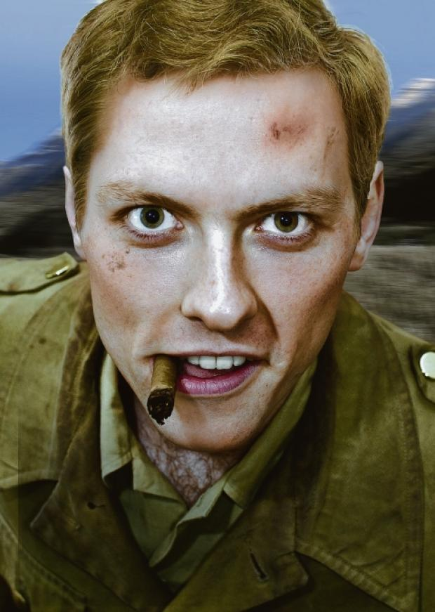 Young Churchill – Freddie Machin in his new play
