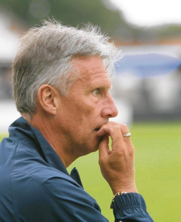 Watching brief - boss John Ward will run the rule over his players in two separate friendly matches, this weekend.