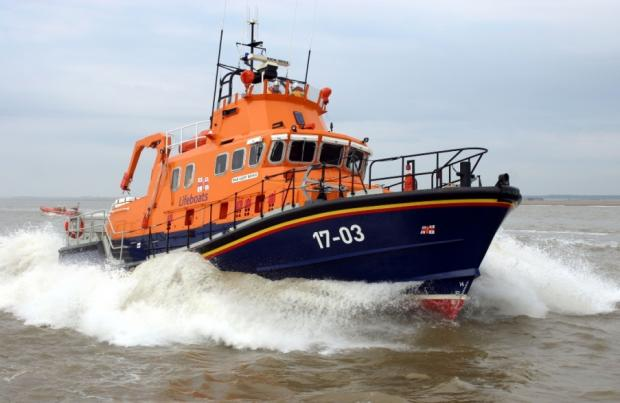 Lifeboat crews rescue yachtsman caught in adverse weather